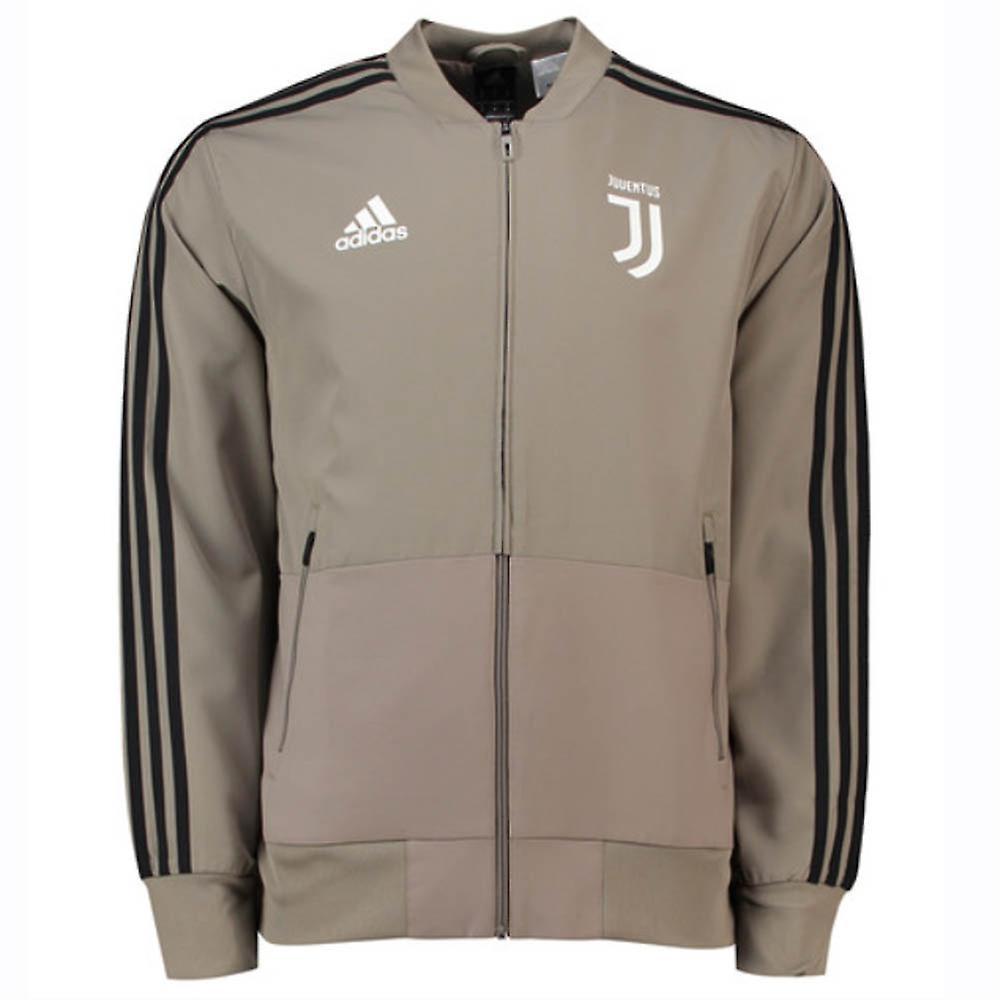 2018-2019 Juventus Adidas veste de présentation tissés (argile) - Kids