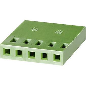 TE Connectivity 925366-8 Socket enclosure - cable AMPMODU MOD IV Total number of pins 8 Contact spacing: 2.54 mm 1 pc(s)