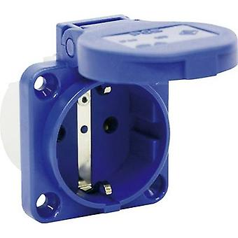 PCE 109-0bw Add-on socket IP54 Blue