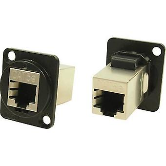XLR adapter FTP RJ45 CAT 5e Adapter, built-in CP30220SMB Cliff Content: 1 pc(s)
