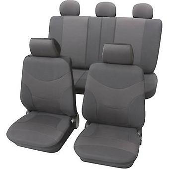 Petex Vesuvius Universal car seat cover set Grey 17 pieces