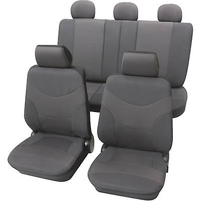 Petex Vesuvius Universal voiture seat cover set gris 17 pieces