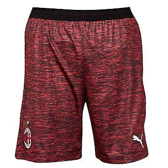 2018-2019 AC Milan Puma Third Shorts Red (Kids)