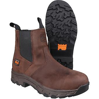 Timberland Mens Workstead Pull on Dealer Leather Work Safety Boot