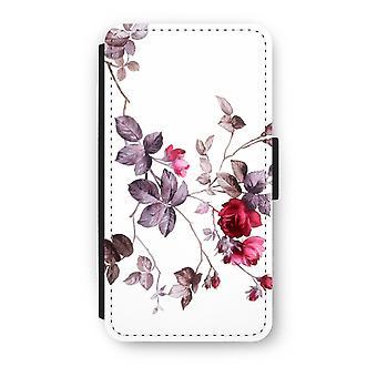 iPhone XS Flip Case - vackra blommor
