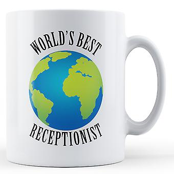 World's Best Receptionist - Printed Mug
