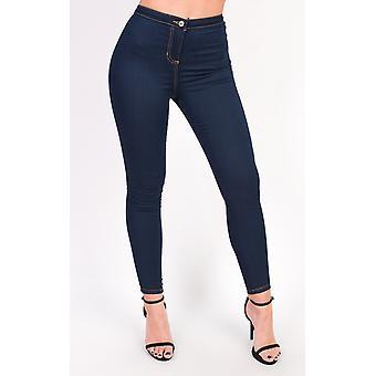 IKRUSH Womens Amy High Waisted Skinny Stretch Jeans