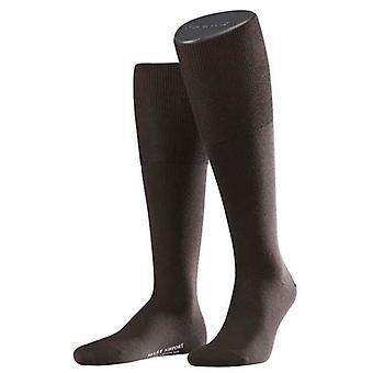 Falke Airport Knee High Socks  - Brown