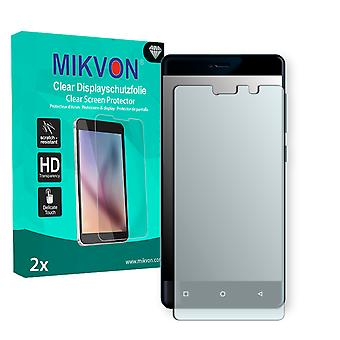Allview P8 Energy Mini Screen Protector - Mikvon Clear (Retail Package with accessories) (reduced foil)