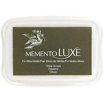 Memento Luxe Ink Pad-Olive Grove
