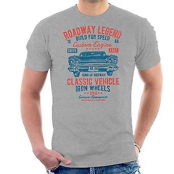 Klassiska fordon vägbanan Legend mäns T-Shirt