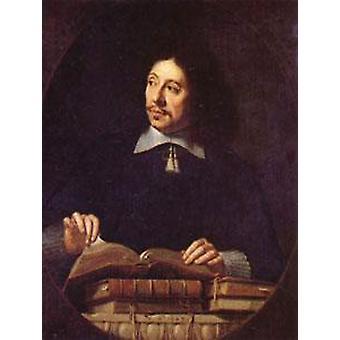 صورة لرجل، فيليب دي Champaigne، 50x40cm