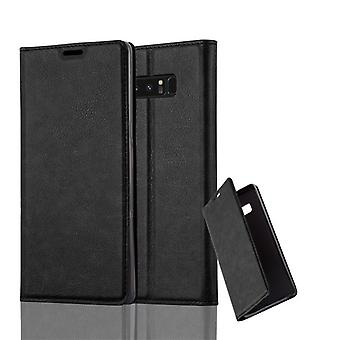 Cadorabo sleeve for Samsung Galaxy touch 8 - cell phone case with magnetic closure, stand function and card holder - case cover sleeve pouch bag book Klapp style