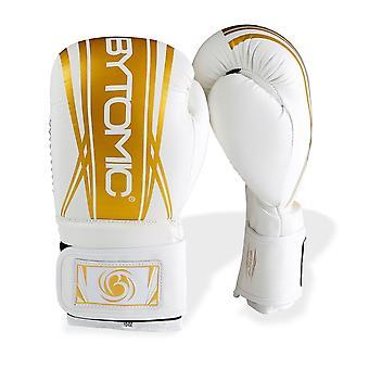 Bytomic Axis V2 Boxing Gloves White/Gold