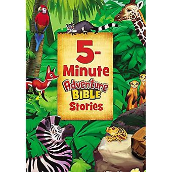 5-Minute Adventure Bible Stories by Catherine DeVries - 9780310759706
