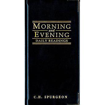 Ochtend en avond - zwarte Cover door C.H. Spurgeon - 9781857921250 boek
