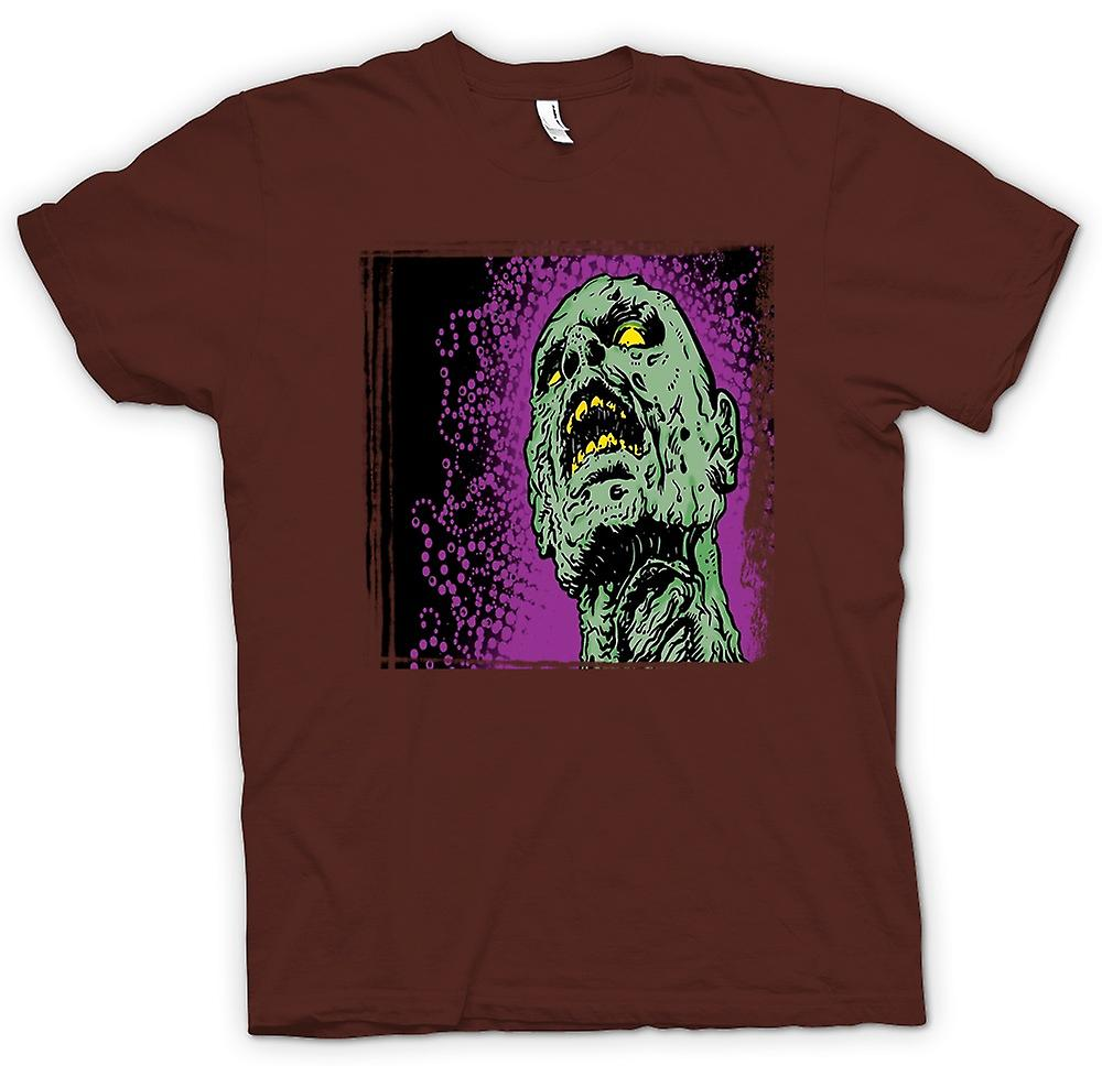 Mens T-shirt - Pop Art - Zombie Head - Cool