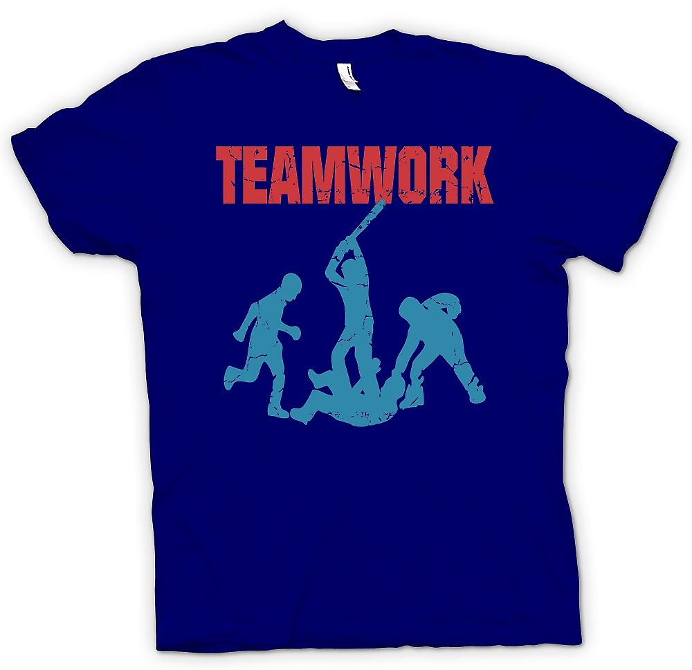 Mens T-shirt - Teamwork - Yob Culture