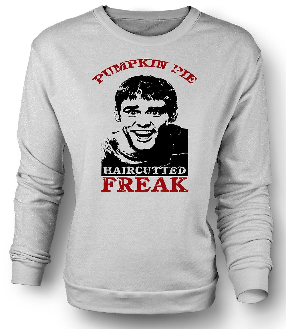 Mens Sweatshirt Dumb And Dumber - Pumpkin Pie - Hair