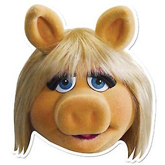 Miss Piggy Card Face Mask (The Muppets)