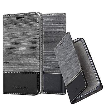 Cadorabo case for Huawei Y5 2018 - mobile case with stand function and compartment in the fabric design - case cover sleeve pouch bag book
