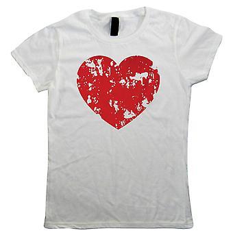 Coeur en détresse, Womens T-shirt