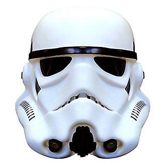 3D Stormtrooper 16cm Star Wars sfeer licht Lamp - wit