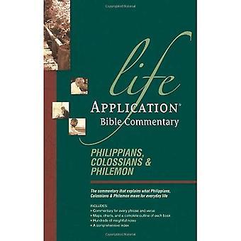 Filipenses, Colossenses, Filemom: Laboratório Comm (comentário da Bíblia vida aplicação)