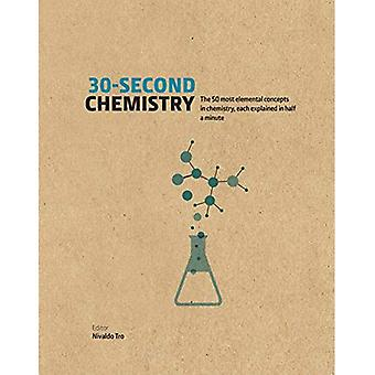 30-Second Chemistry: The 50 most elemental concepts in chemistry, each explained in half a minute. - 30 Second (Hardback)
