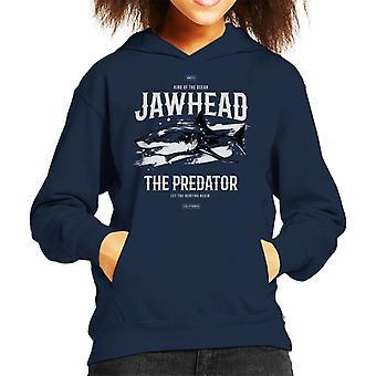 Shark Jawhead The Predator Kid's Hooded Sweatshirt