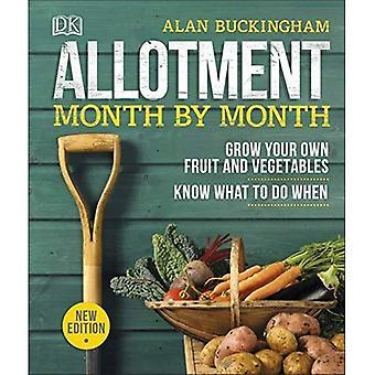 Tilldelning månad för månad: växa din egen frukt och grönsaker, veta vad till gör när