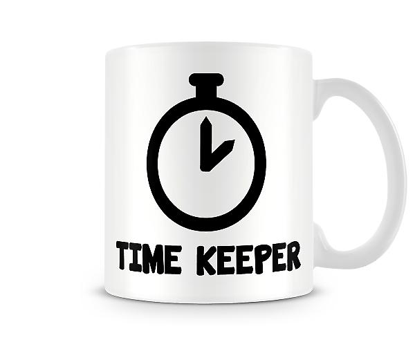 Decorative Writing Time Keeper Printed Text Mug