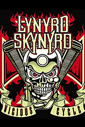 Lynyrd Skynyrd Vicious Circle fridge magnet (cv)