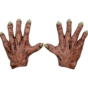Monster Flesh Latex Hands For Adults