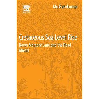 Do nível do mar Cretáceo subirem rocha & Mu