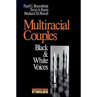 Multiracial par svart vita röster av Karis & Terri A.