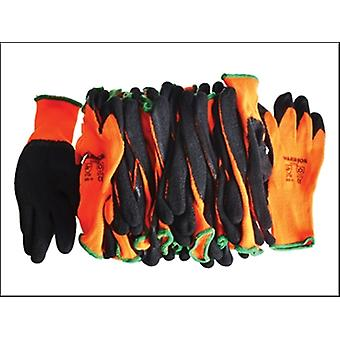 Scan Knitshell Thermal Gloves (12) Orange / Black Size 9