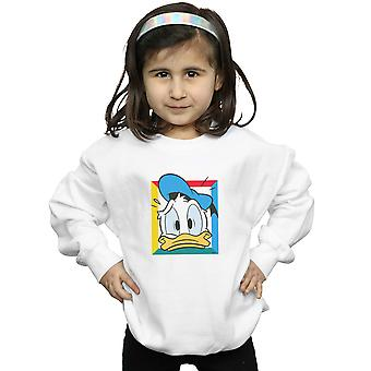 Disney Mädchen Donald Duck in Panik Sweatshirt