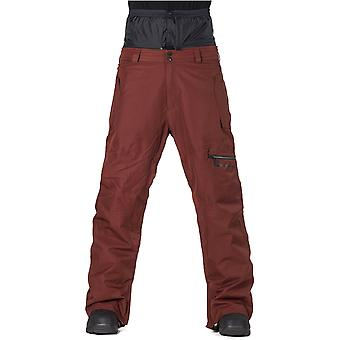 Horsefeathers Dark Red Douglas Snowboarding Pants