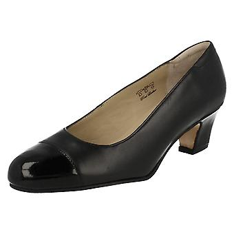 Ladies Equity Wide Fitting Court Shoes Camilla