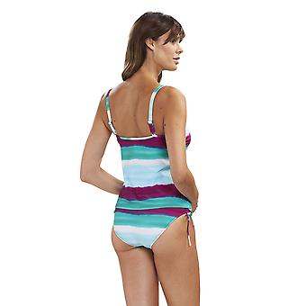 Rosch 1195532-11820 Women's Beach Deep Ocean Multicolour Swimwear Beachwear Tankini Set