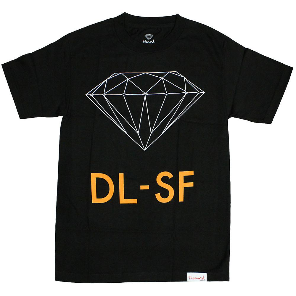 Diamond Supply Co DL-SF t-shirt Black