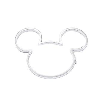 Disney Mickey Mouse 90 Years White Gold-Plated Bangle