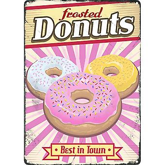Grindstore Frosted Donuts Tin Sign