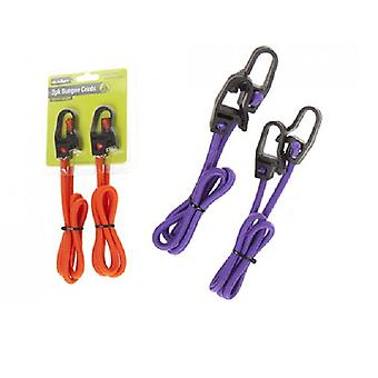 Summit 80cm Luggage Cords - 2 Pack