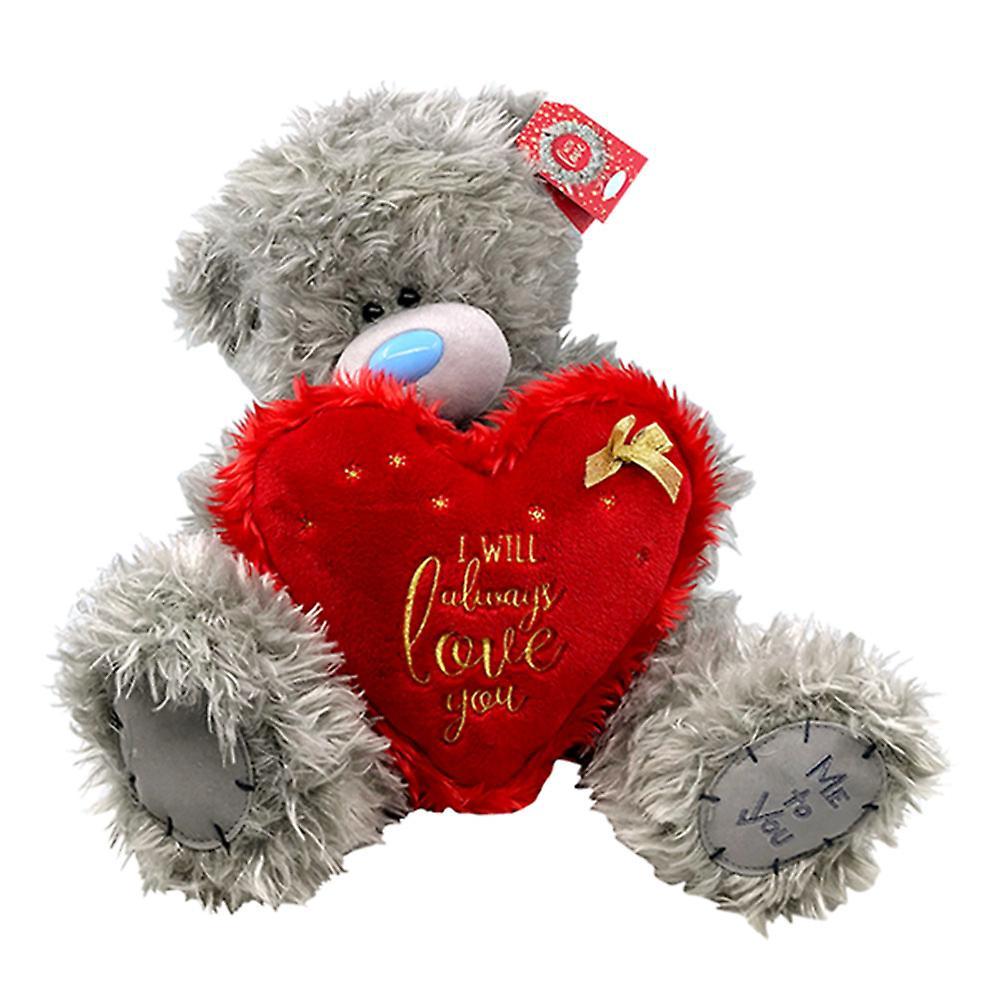 Moi à vous Noël 12 & 034;ours avec coeur toujours l'amour