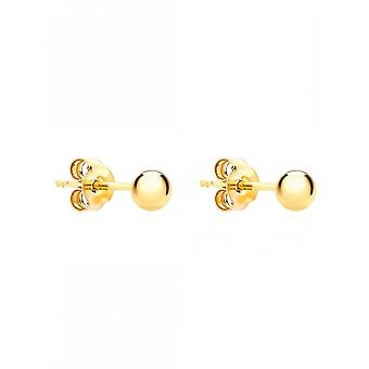Eternity 9ct Or 3mm Ball Stud Boucles d'oreilles