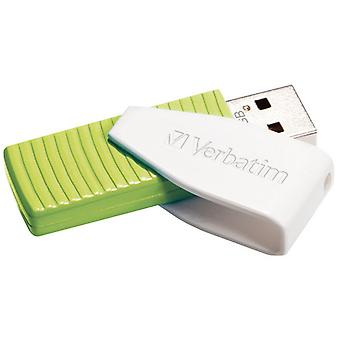 Verbatim Swivel USB Stick 32 Go Vert/Blanc