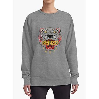 Kenzo Holzkohle Frauen Sweat-shirt