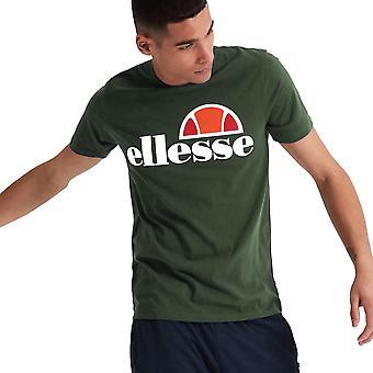 Ellesse Heritage Prado Mens Retro Fashion T-Shirt Shirt Tee Khaki